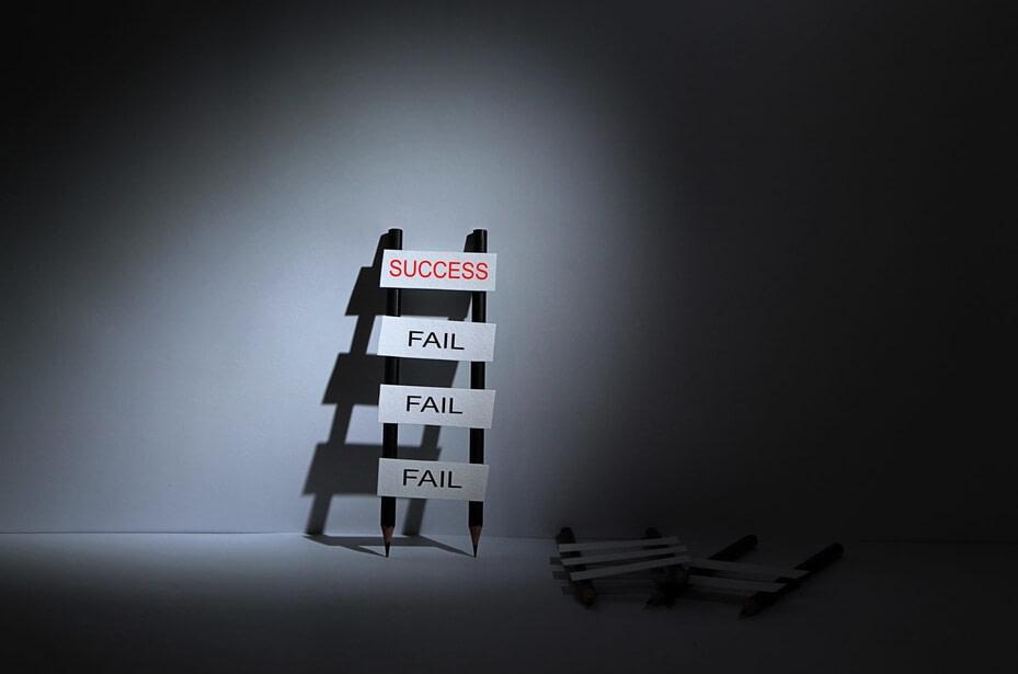 eșecurile - pașii spre succes