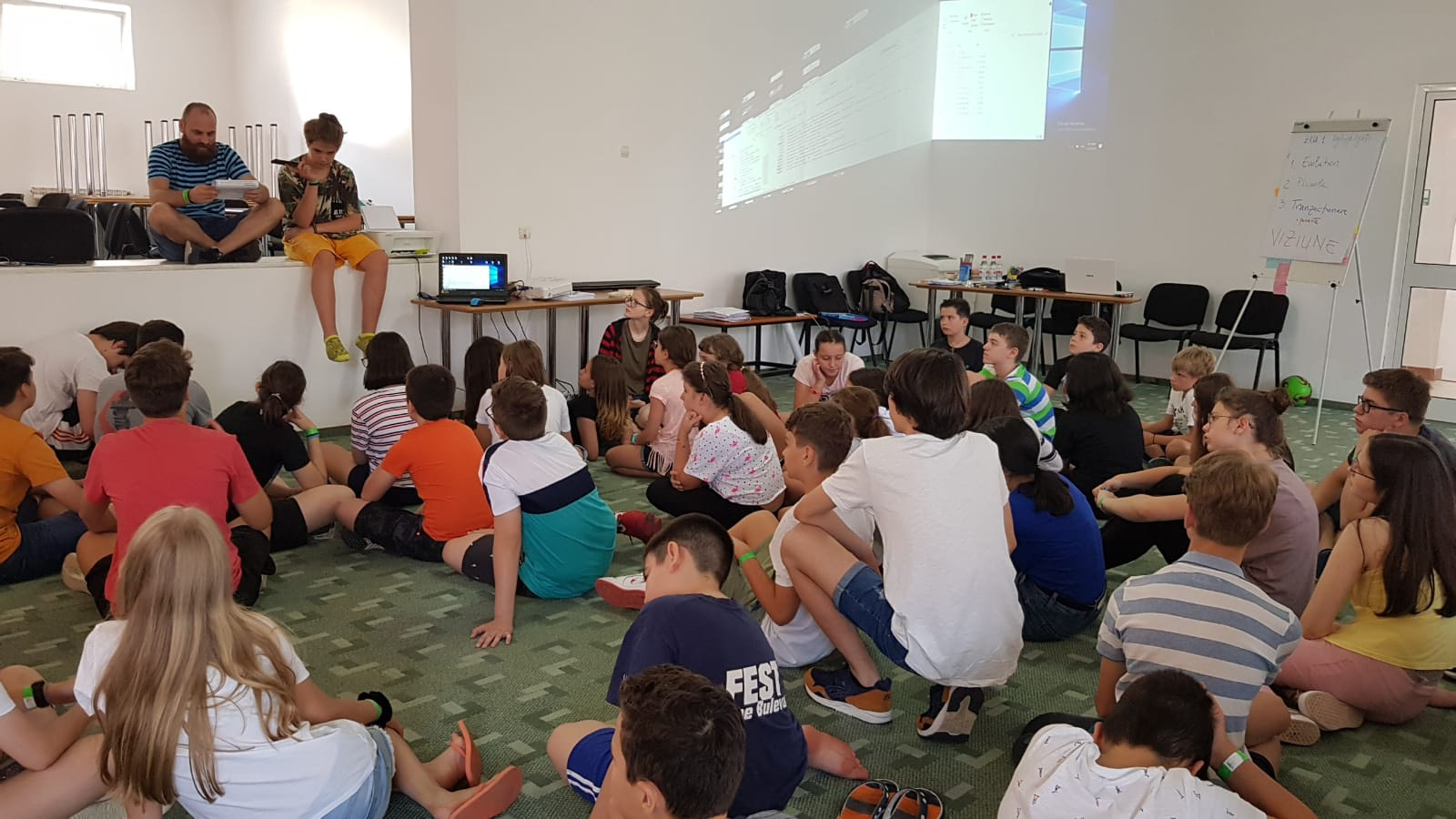 Workshop copii Baile Olanesti